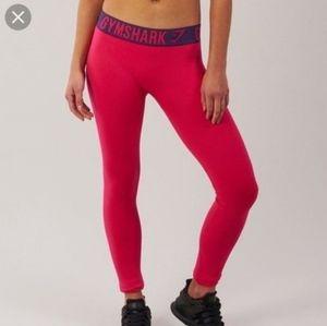 Gymshark Fuschia Pink Purple Seamless Leggings M